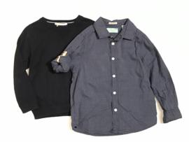 Scotch Shrunk overhemd voor jongen van 4 jaar met maat 104