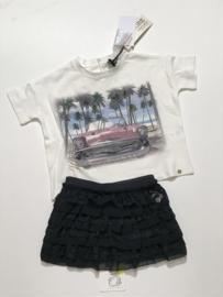 Microbe Easy & Chic by Miss Grant t-shirt voor meisje van 2 jaar met maat 92