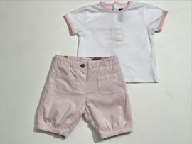 Burberry t-shirt voor meisje van 6 maanden met maat 68