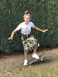 Grunt rok voor meisje van 8 jaar met maat 128