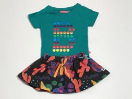 Le Big t-shirt voor meisje van 3 / 4 jaar met maat 98 / 104