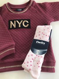 Ewers maillot voor meisje van 9 maanden met maat 74
