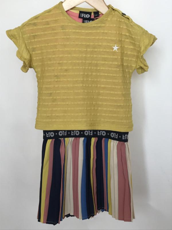 Like Flo jurk voor meisje van 2 jaar met maat 92