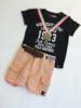 Z8 korte broek met riem voor jongen van 6 maanden met maat 68