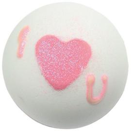 Heart that glitters Bath Blaster