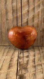 Carneool hart groot