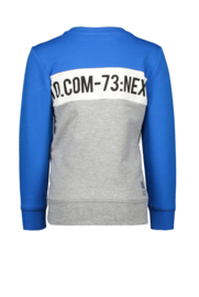 Tygo & Vito sweater cut & sewn cobalt