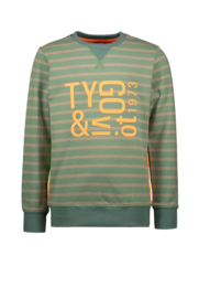 T&V sweater stripe