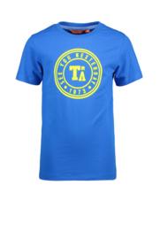 Tygo & Vito round logo print sky blue