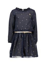 Le Chic dress voile glitter lining