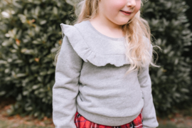 Bampidano Kids girls sweater with volant