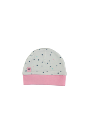 Bampidano baby girls bonnet allover print dots