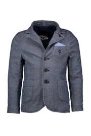 LE chic garcon blazer stretch indigo
