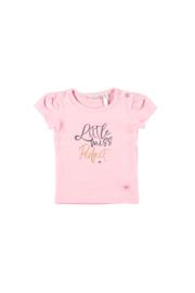 Bampidano baby girls t-shirt s/s pink