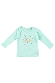Bampidano baby girls t-shirt plain mint