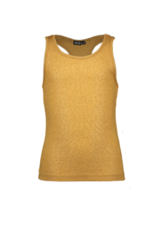 Flo girls metallic jersey singlet
