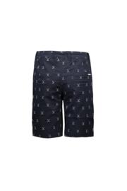 LCG shorts golfing allover blue navy