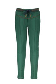 Nono sweat pants with rib waistband green