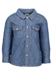 Flo baby boys denim blouse