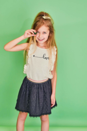Nono Nadja skirt with striped elastic waistband