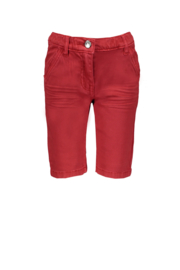 Le chic garcon short classic twill red