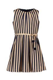 Nono maluna sleeve less striped dress