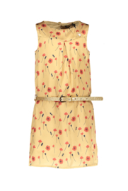 Nono Mara a line sleeveless dress with seperate belt