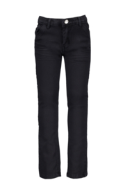 Le chic garcon trousers classic twill bue