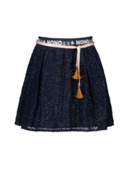 NOno Nadja skirt dobby voile with logo waistband