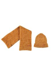 Nono winterset scarf + beanie warm mustard