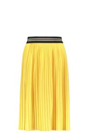 Like Flo girls jersey plisse skirt maxi