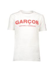 LCG t-shirt garcon charming boys white
