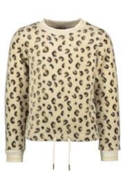 Flo girls animal knit sweater