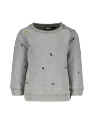 FLo baby boys sweater grey