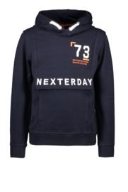 Tygo & Vito hoodie fake anorak navy