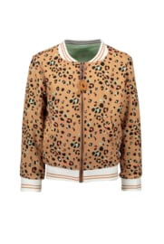 Nono donnaC reversible animal/leopard jacket