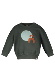 TNC Sweater with patched artwork
