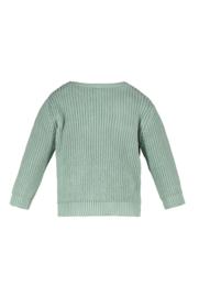 TNC heavy knitted sweater tea green