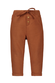 TNC sweat pants with cord, fake fly and pockets