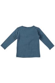 Bampidano baby girls t-shirt plain navy