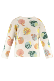 TNC long sleeve t-shirt with moonchild aop