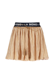 Nono nikky pleated skirt branded waistband