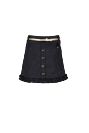 Le Chic skirt A-line suede-look