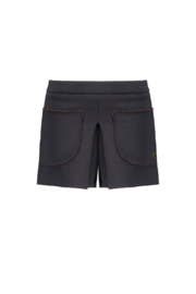 Flo navy short