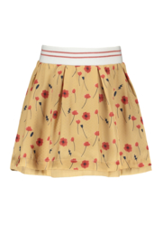 Nono nadja reversible skirt flowers & dots
