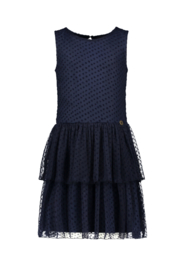 Like flo fancy mesh sleeveless dress