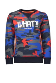 Tygo & Vito sweater AOP camouflage WHAT?