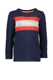 Tygo & Vito t-shirt LS GAME OVER