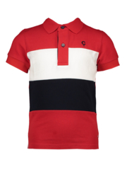 Le chic garcon polo colour-blocking