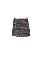 Le Chic skirt glitter tweed